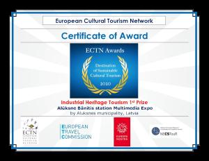 ECTN Certificate of Award 2020 IHT