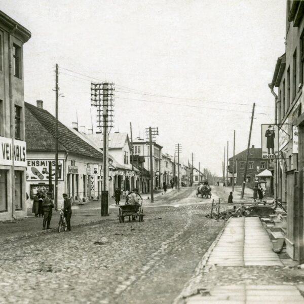 Pils iela 1930 gadi
