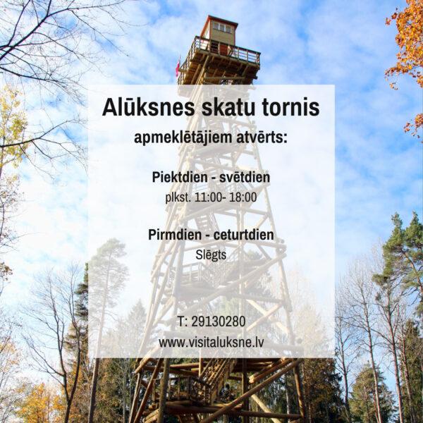 Alūksnes skatu tornis