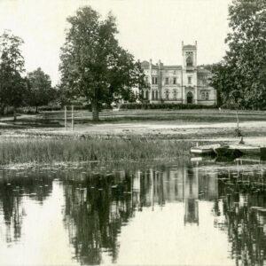 Alūksnes Jaunā pils 1920.gads