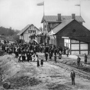 Alūksnes Bānīša stacija 1901.gads