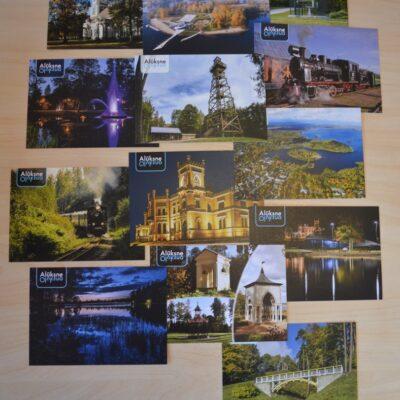 Alūksne post cards