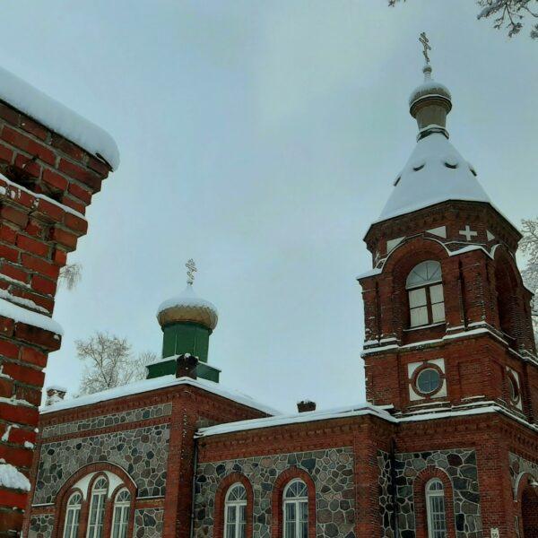 Alūksnes Svētās Trijādības pareizticīgo baznīca, tornis