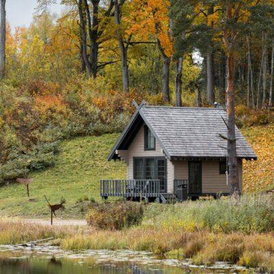Nature House at Lake Eniķis