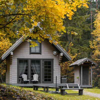 Nature house at Lake Raipals