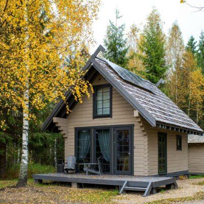 Nature house at Lake Vaidava