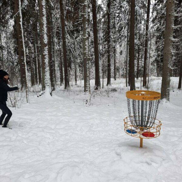 Disku golfa laukums
