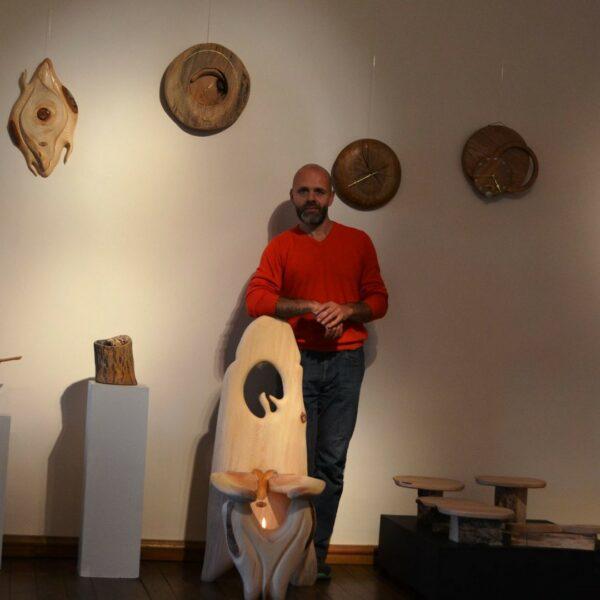 Master of natural woodworking, Harijs Stradiņš