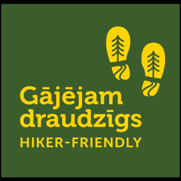 Gājējam draudzīgs/ Hiker Friendly LOGO LV