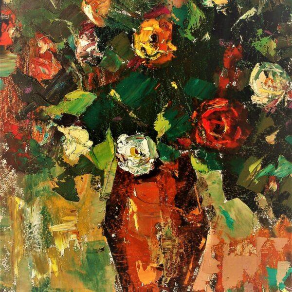 Jānis Selga, glezna