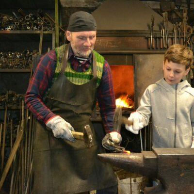 Master of blacksmith, Laimonis Bāliņš