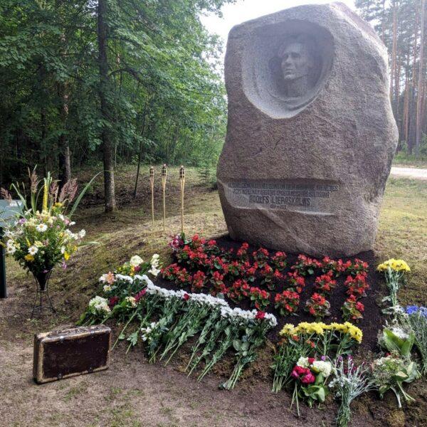 Adolfs Liepaskalns' Memorial Stone