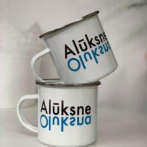 Aluminium mug Alūksne l Oluksna