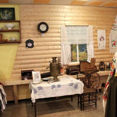 Exposition in Folk Centre Pededze