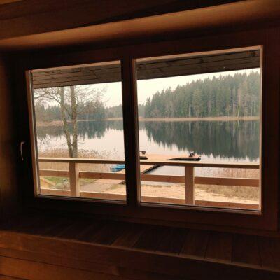 "Sauna house of the recreation complex ""Ziemeri"""