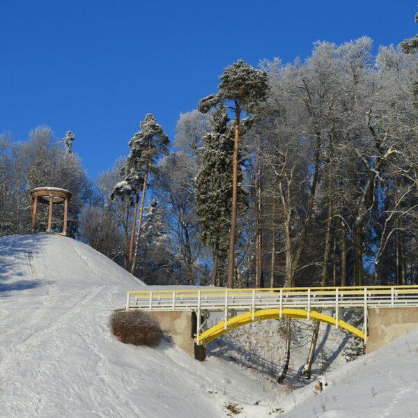 Tempļa kalns, ziema