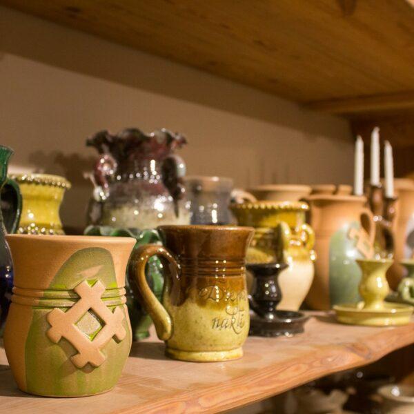 Keramikas amata meistars Uģis Puzulis - darbi