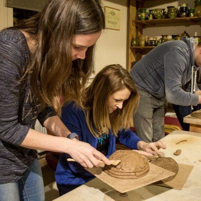 Keramikas amata meistars Uģis Puzulis - darbnīca