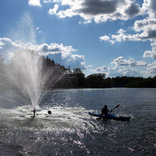 Alūksnes ezers strūklaka