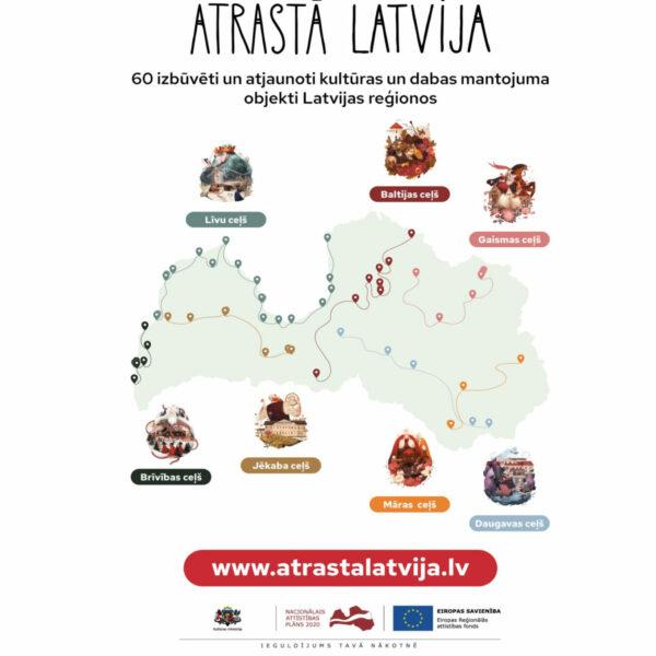 Atrastā Latvija