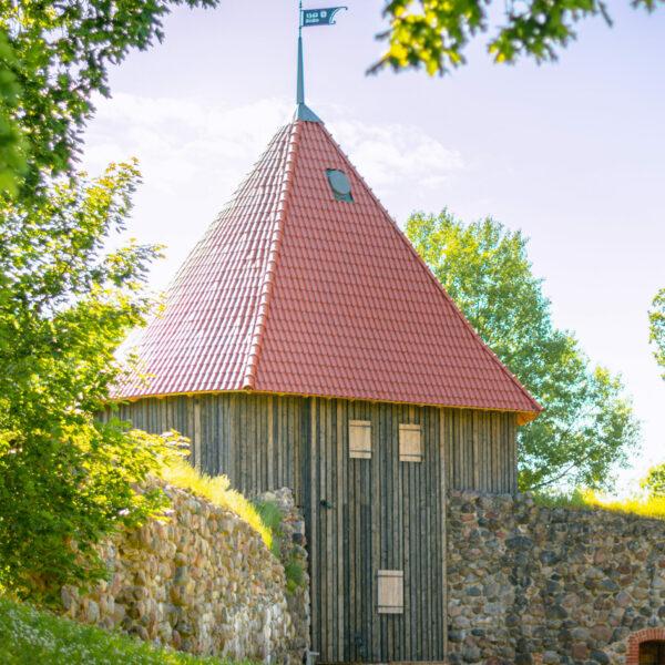 Dienvidu tornis Livonijas ordeņa Pilsdrupās