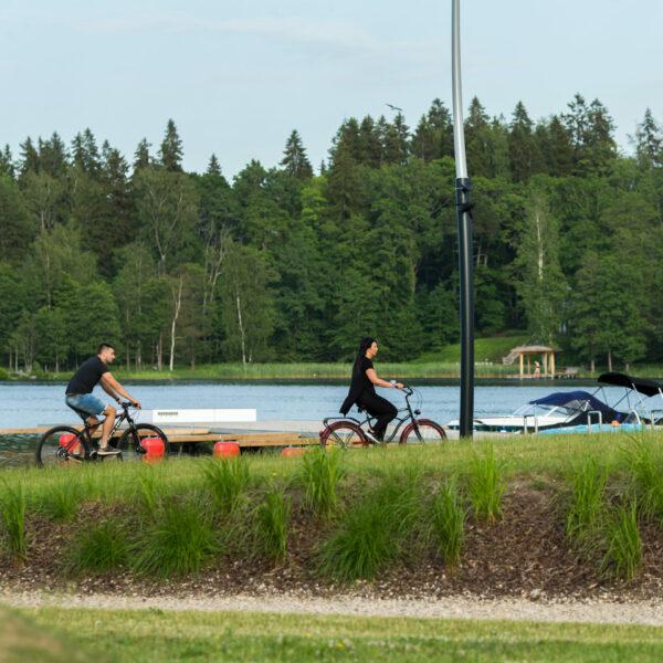 Ride Alūksne by bicycle!