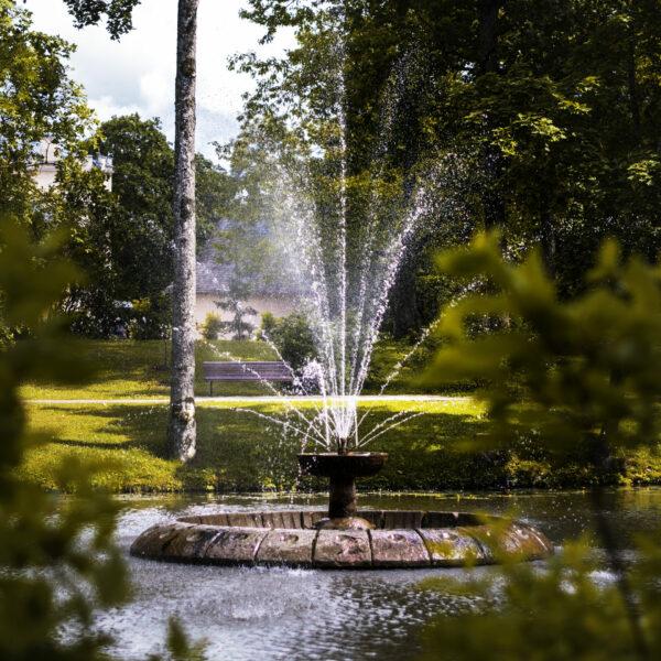 Strūklaka Alūksnes muižas parkā