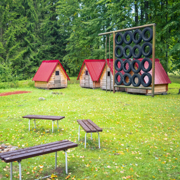 Koka teltis Zeltiņos